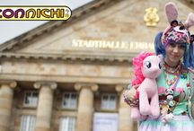 Connichi / Cosplay-, Anime and Manga Convention in Kassel, Germany.