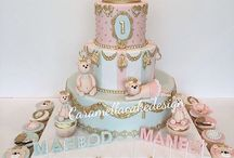Christening/children's cakes