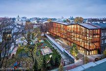 ARCHITEKTURA / ciekawe budynki, nietuzinkowe rozwiązania architektoniczne