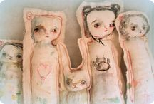 Art Dolls!! / by Lynnette Cooper