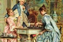 XVIII century paintings