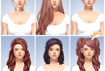 Hairstyles Sims 4