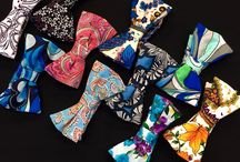 Jimmy Stuart Bow Ties & Pocket Squares / Jimmy Stuart Bow Ties to accessorize with any dapper outfit