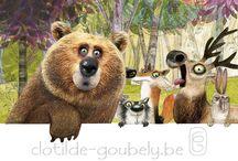 숲속의 동물