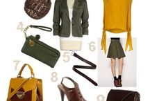 Fall 2012 Color Themes / by Ann Riedesel-Jepsen