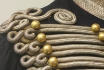 Cord work on garments
