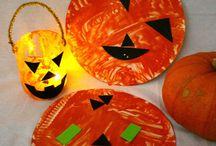 Halloween crafts and activities for children