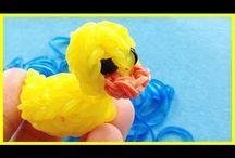 יצירה מגומיות / ברווז