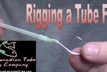 Tube Fly Basics - Videos / Tying tube flies can be a bit challenging in the beginning Here are a few videos that will get you started on tying tube flies!