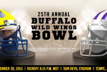 2013 Buffalo Wild Wings Bowl / Michigan vs. Kansas State Dec.28. Go online to join U-M's official bowl tour: http://alumni.umich.edu/connect/official-university-michigan-bowl-tour-and-tailgate