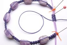 Jewelry - Micro Macrame CORDING Knotting / by Tamar DeJong