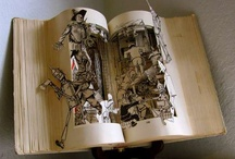 Altered Books and other art / Art with books and other