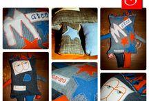 Stitch & Sew / Mijn eigen hobbybedrijfje gespecialiseerd in gepersonaliseerde, originele kinder- en babyproducten.  Meer informatie: kijk op facebook naar mijn pagina Stitch & Sew en like om op de hoogte te blijven van al mijn producten en acties, of stuur een email