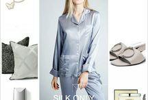 Silk Sleepwear / SILK ONLY Luxurious Silk Sleepwear