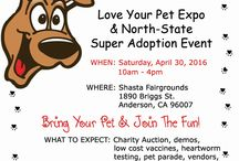 Vendors at Love Your Pet Expo 2016 / These are the folks you can visit at our 9th annual pet-friendly Love Your Pet Expo, Saturday, April 30, 2016 at Shasta Fairgrounds, in Anderson, CA.