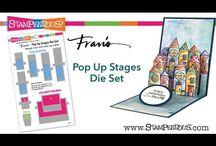 stampendous frans pop up stages die set