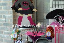Girl Super Hero / Fun ideas for a girly Super Hero party.