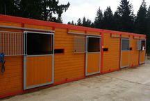 Pferdebox / Container Pferdebox