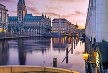 Hamburg. / Enjoyed a stay in this city & a visit to Lubeck. / by Gary Mayne