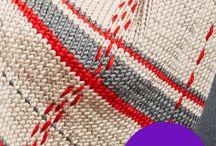 tartan pletení
