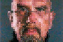 US art - hyper-realism - Chuck Close