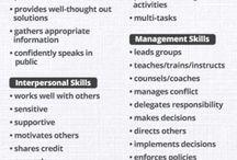 CV's & Resumes