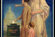 VOTE et élections. / Vote, voter, élection / by Anne-Christelle Beauvois