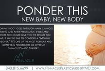 "Ponder This: New Baby, New Body / Dr. Klenke offers her take on the ever-popular ""Mommy Makeover."""