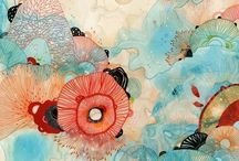 Coral & Blue / by Vela Burke