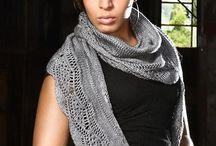 knit shawl / by Jean Smalley
