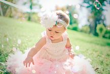 baby girl photo shoot ideas
