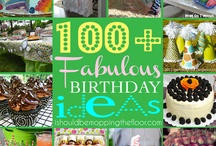 brthday party ideas / by Jenny Bernstein