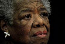 In Memoriam... / Op 28 mei 2014 is de Amerikaanse auteur, dichteres en activiste Maya Angelou op 86-jarige leeftijd overleden,