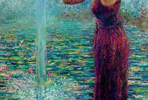 Iris Scott / Finger art