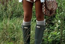 Hunter boot outfits