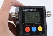 SURECOM SW-102-VU / SURECOM SW-102-VU vswr meter with frequency counter & power meter