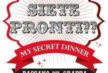 2014 MySD Bassano del Grappa / Siete pronti per il prossimo My secret dinner a Bassano?!