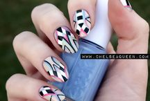 Unghie / Nail art found in Pinterest that I'd like to realise