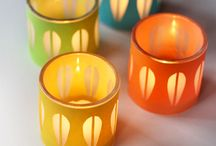 Crafting (Candle Holders) / by Vickie Tagatz