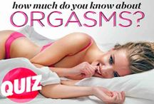 Orgasm Facts, Tips and Techniques / Enjoy your intimate moments with your lover with and exclamation point . . . and orgasm. Learn from tips, techniques and secrets from experts on having more frequent and intense orgasms. #orgasms #femaleorgasms