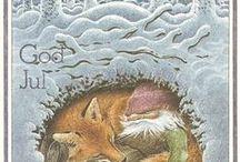 Skandynawskie kartki : Świąteczne