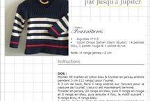 tricots divers enfants