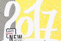 paper & glue NEW YEARS