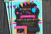 Bounce House Party | THEME / by Forever Your Prints