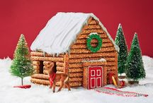 gingerbread houses / by Joy McLawhon