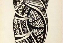 Polynesian tatoo