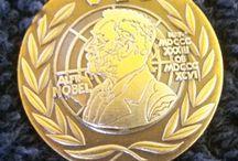 Uitreiking draaginsigne Nobelprijs voor de Vrede