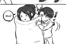 Levi x Hange // Attack on Titan / Not my otp, but some of this is cute!
