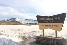 Molly Gibson Lodge - A drive across Independence Pass / At an elevation about 12,000ft., Independence Pass is one of the most popular attractions in Colorado!