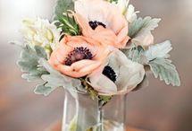Peach Mint and Sage wedding